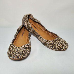 Lucky Brand Emmie Sesame Persian Leopard Flats